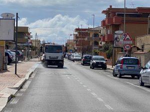 Fiumicino, Covid19: operazioni di sanificazione delle strade
