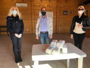 Nettuno, Consegnate 300 mascherine al Cdq di Sandalo