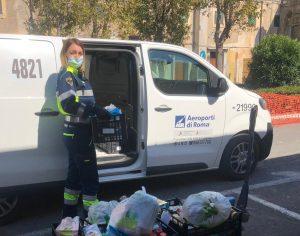 Fiumicino, Beni di prima necessità: un furgoncino per le consegne