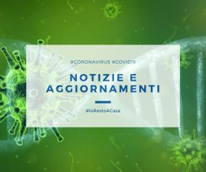 Pomezia, Coronavirus: gli aggiornamenti