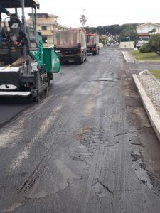 Anzio, Lavori in corso per la sistemazione delle strade e per il potenziamento della pubblica illuminazione