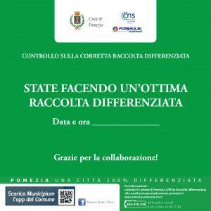 Pomezia, Raccolta d'ifferenziata: premiati con un bollino verde i condomini più virtuosi