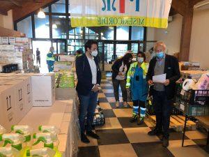 Fiumicino, Istituito un secondo centro di distribuzione di beni di prima necessità