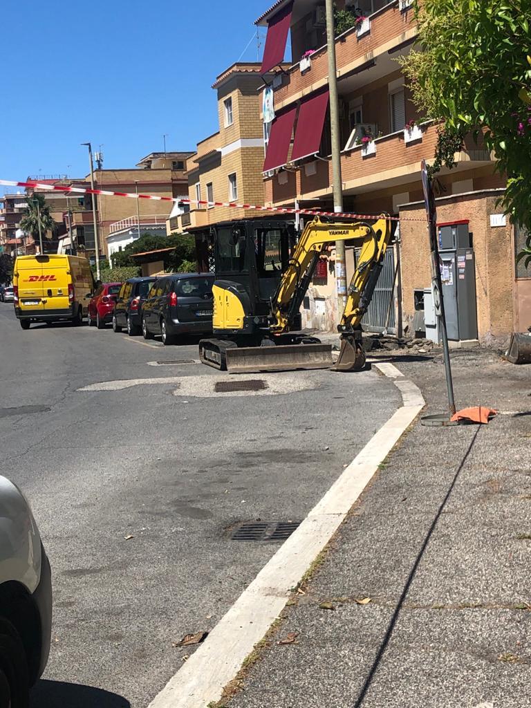 """Fiumicino, Montino: """"Partiti i lavori di rifacimento dei marciapiedi in via Anco Marzio"""""""