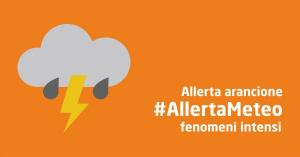 Fiumicino, Maltempo: allerta arancione
