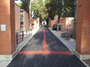 Fiumicino, Cimitero portuense, chiuso il 18 e 19 giugno per il completamento della messa in sicurezza delle alberature