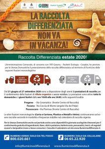 """Fiumicino, Cini: """"Parte domenica prossima il piano estivo per la raccolta differenziata"""""""
